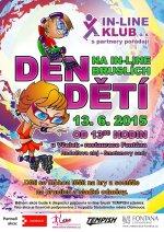 Den dětí na in-line bruslích (13. 6. 2015)
