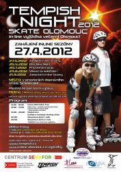 Tempish Night skate Olomouc (27. 4. 2012)
