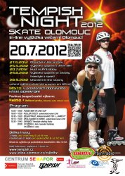 Tempish Night skate Olomouc (20. 7. 2012)
