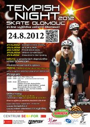 Tempish Night skate Olomouc (24. 8. 2012)