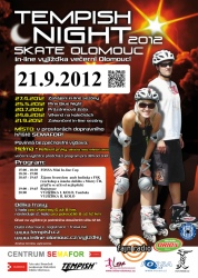 Tempish Night skate Olomouc (21. 9. 2012)